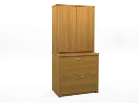 """Bestar Furniture 60879 Embassy 36"""" assembled lateral file with cabinet"""