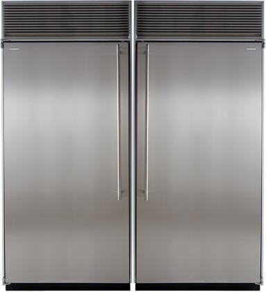Marvel 707936 Side-By-Side Refrigerators