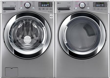 LG LG2PCFL27SSEKIT1 Washer and Dryer Combos