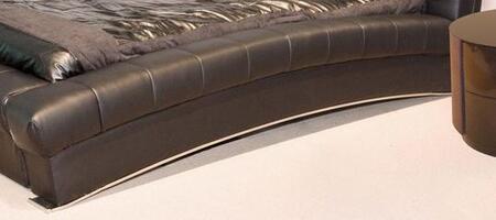 Diamond Sofa BELAIRERAILSQ Belaire Collection Queen Size Bed Rails: