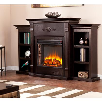 Holly & Martin FE854X Tennyson Electric Fireplace with Bookcases