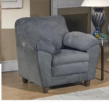 Chelsea Home Furniture 5550CHBT Armchair Polyblend Wood Frame Accent Chair