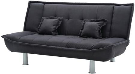Glory Furniture G505S G500 Series Convertible Suede Sofa