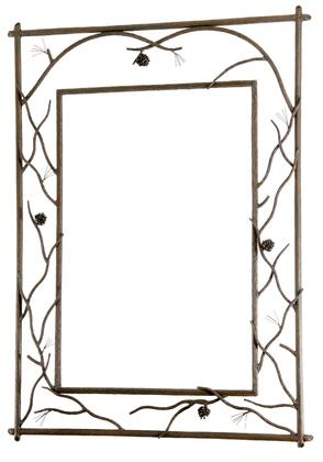 Stone County Ironworks 904-240 Pine Branched Wall Mirror