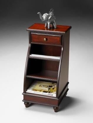 Butler 5047024 Plantation Cherry Series Traditional  1 Drawers End Table