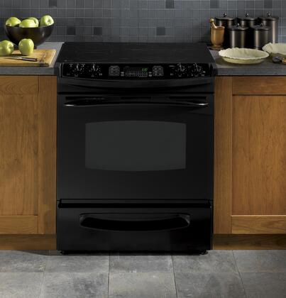 GE PS968DPBB Profile Series Slide-in Electric Range with Smoothtop Cooktop Storage 4.1 cu. ft. Primary Oven Capacity |Appliances Connection