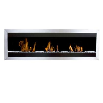 Bio-Blaze BBSQXL2 Square Series Wall Mountable Vent Free Bioethanol Fireplace