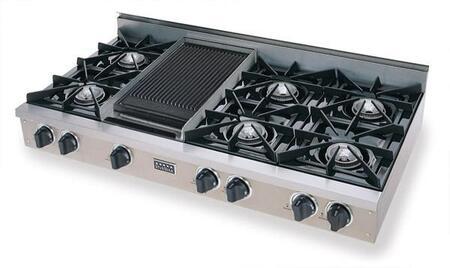 "FiveStar TPN0487 48"" Gas Open Burner Style Cooktop"