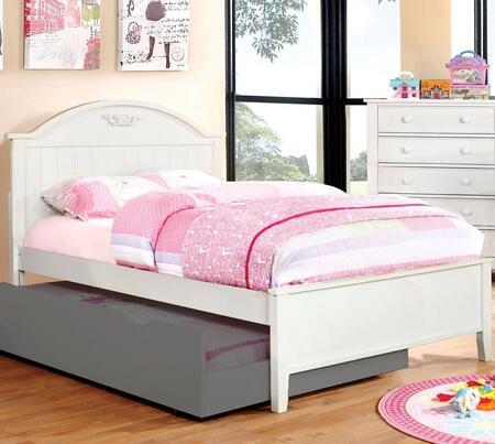 Furniture of America CM7942WHFBED Medina Series  Full Size Bed