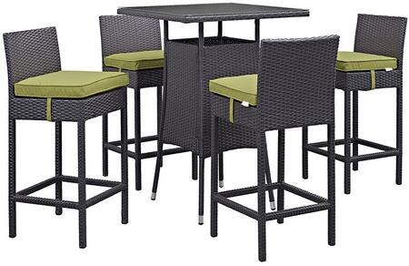 Modway EEI1963EXPPERSET Square Shape Patio Sets