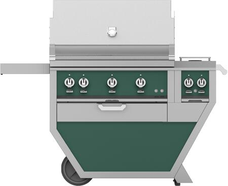 54 in Deluxe Grill with Side Burner    Grove