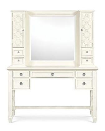 Magnussen Y181649 Cameron Series Childrens 9 Drawers Vanity with Mirror |Appliances Connection
