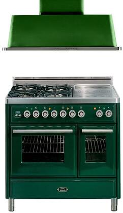 Ilve 721521 Majestic Techno Kitchen Appliance Packages