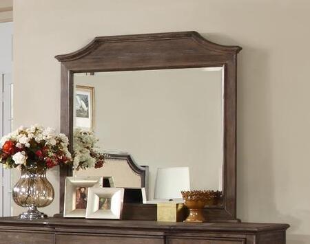 Myco Furniture EM3800M Emilia Series Rectangle Portrait Dresser Mirror