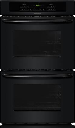 "Frigidaire FFET2725P 27"" Double Electric Wall Oven with 3.8 Cu. Ft. Self-Clean Ovens, Delay Clean Option, Timed Cook Option, Keep Warm Setting and Auto Oven Shut-Off:"
