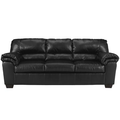 Commando Black Sofa Front