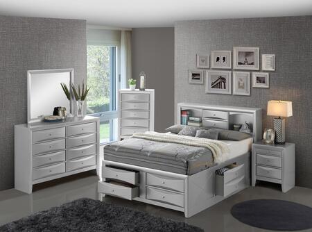 Glory Furniture 6 Piece King Size Bedroom Set