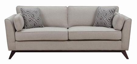 Donny Osmond Home 505521 Amsterdam Series Stationary Fabric Sofa