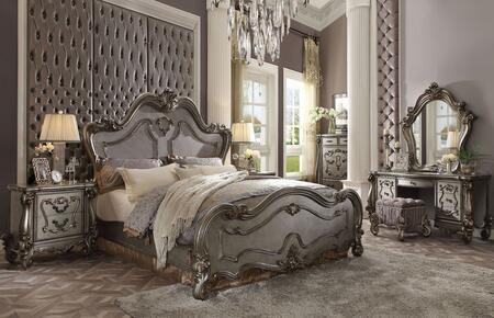Acme Furniture Versailles 7 Piece Queen Size Bedroom Set