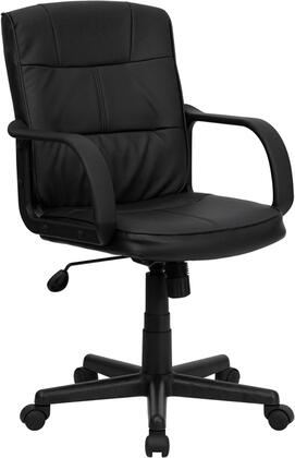 """Flash Furniture GO228SBKLEAGG 25"""" Contemporary Office Chair"""