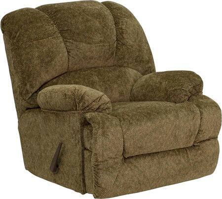 Flash Furniture AM97003978GG Contemporary Zenith Series Contemporary Polyblend Wood Frame Rocking Recliners