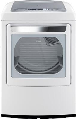 "LG DLGY1202W 27"" Gas 27"" Gas Dryer  Appliances Connection"