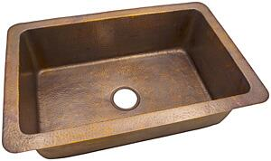 The Copper Factory CF163AN Kitchen Sink