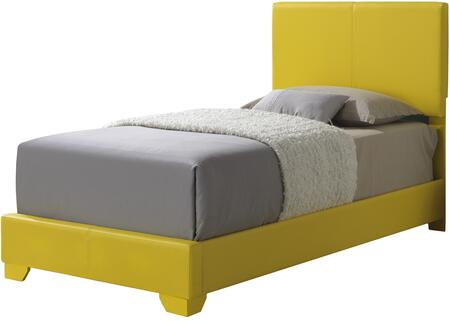 Glory Furniture G1810TBUP  Twin Size Panel Bed