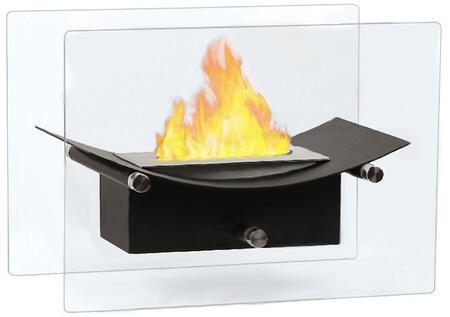 Moda Flame GF301900BK  Vent Free Bioethanol Fireplace