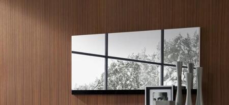 VIG Furniture GALAXYMR GALAXY Series Rectangular Both Mirror