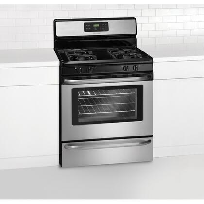 Frigidaire FFGF3051LS Gas Sealed Burner 4 No Yes Freestanding Range |Appliances Connection
