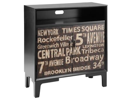 Stein World 12409 Manhattan Series Freestanding Wood Cabinet