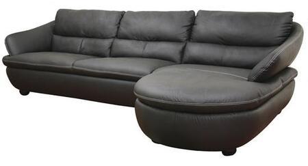 Wholesale Interiors 1252M9812SOFACHAISE Bailey Series  Sofa