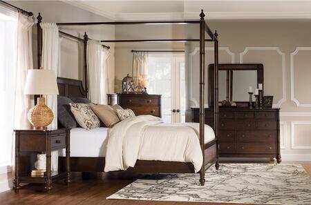 Powell 14BO7024PW2PCQCN1DNKIT1 Passages Queen Bedroom Sets
