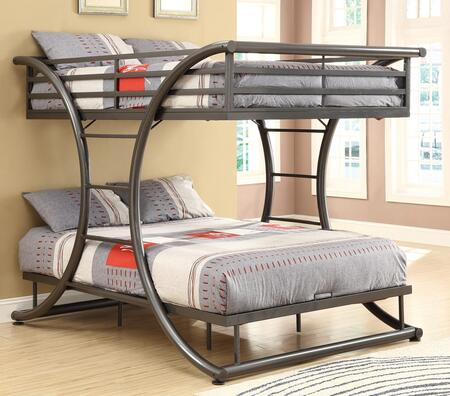 Coaster 460078 Bunks Series  Full Size Bunk Bed