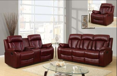 Global Furniture U97601QPU109RSCRLSGR1 U9760 Living Room Set