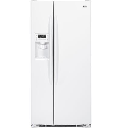 GE Profile PSSF3RGZWW Freestanding Side by Side Refrigerator |Appliances Connection