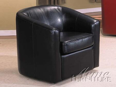 Acme Furniture 08239 Montego Series Accent Chair Leather Wood Frame Accent Chair