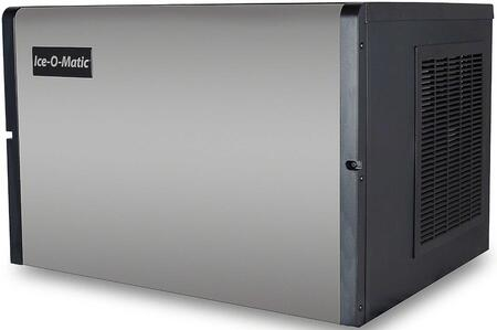 Ice-O-Matic ICE0250 Modular Cube  Ice Machine with  Condensing Unit, Superior Construction, Cuber Evaporator, Harvest Assist and Filter-Free Air: Stainless Steel Finish