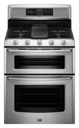 "Maytag MGT8885XS Gas Sealed Burner 30""5 No Yes Freestanding Range 
