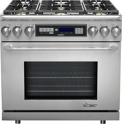 """Dacor ER36DSCHNG 36"""" Discovery Series Dual Fuel Freestanding  Appliances Connection"""