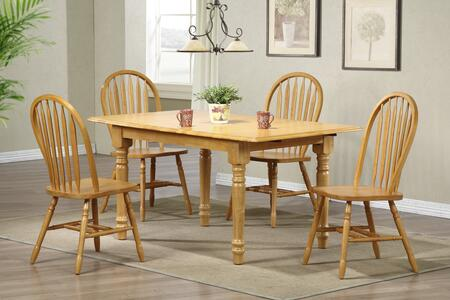 Sunset Trading DLUTLB3660820LO5PC Sunset Selections Dining R