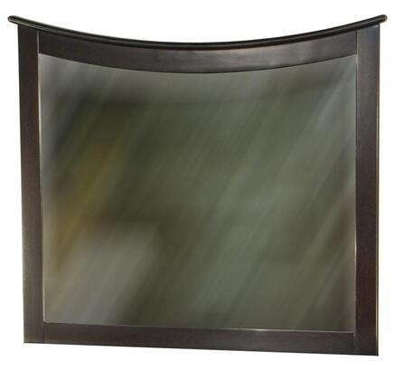 Atlantic Furniture C74001 Maiami Series Rectangular Landscape Wall Mirror