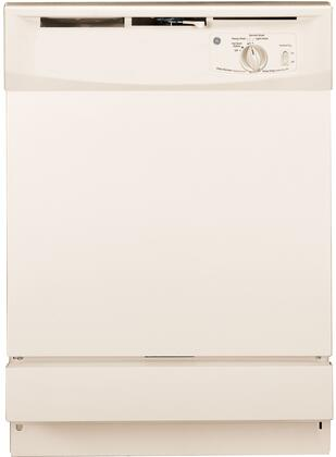 """GE GSD2100VCC 24"""" Built In Full Console Dishwasher"""