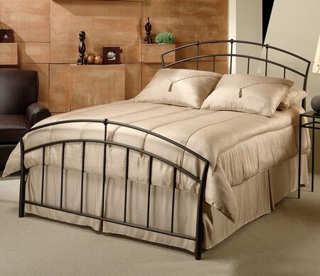 Hillsdale Furniture 1024BK Vancouver Series  King Size Panel Bed