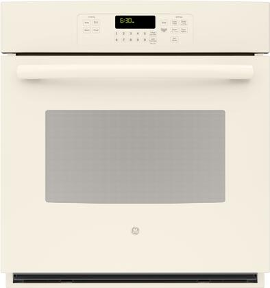 "GE JK3000DFCC 27"" Single Wall Oven, in Bisque"