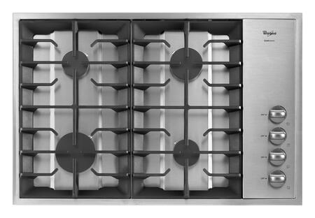 Whirlpool GLS3064RS Gold Series Gas Sealed Burner Style Cooktop |Appliances Connection