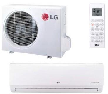 LG LS181HSV2 Mini Split Air Conditioner Cooling Area,
