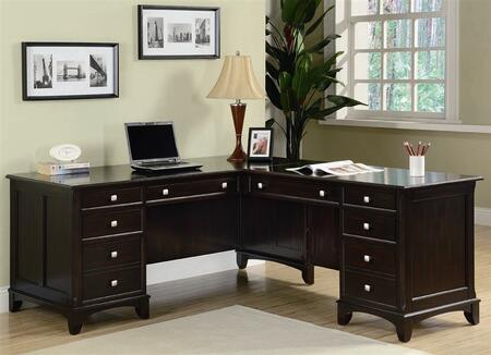 Coaster 801011R Traditional Office Desk