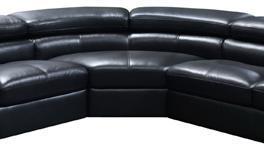 Diamond Sofa SURROUNDCWBL  Sofa